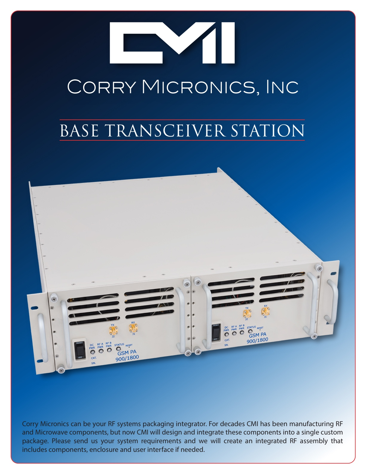 Brochure Base Transceiver Station