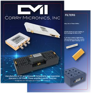 corry micronics product catalog