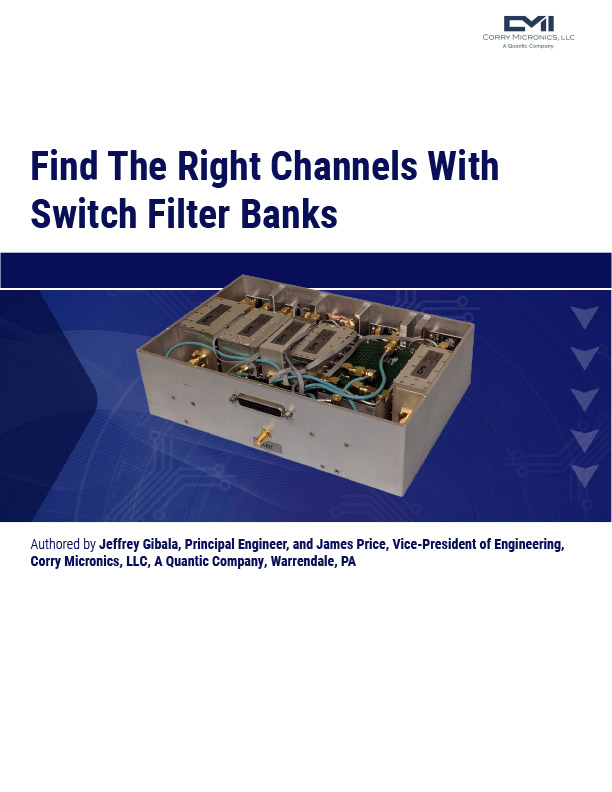 Switch Filter banks